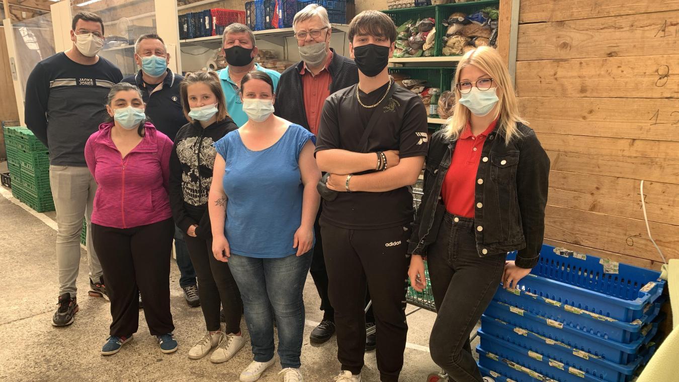 L'AEC tend la main pour la collecte alimentaire à Calais