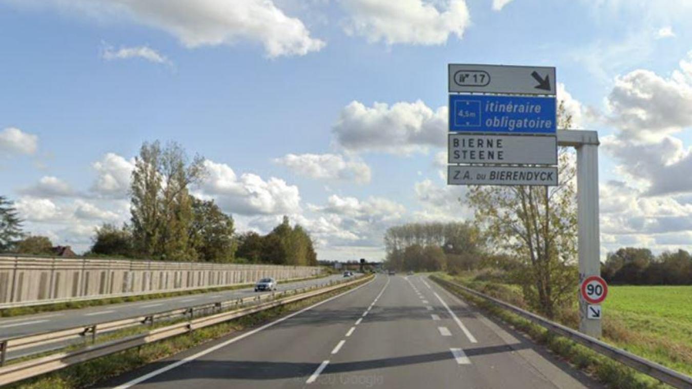 Pendant 10 semaines, l'échangeur de Bierne sera fermé à la circulation, de 22h à 6h.