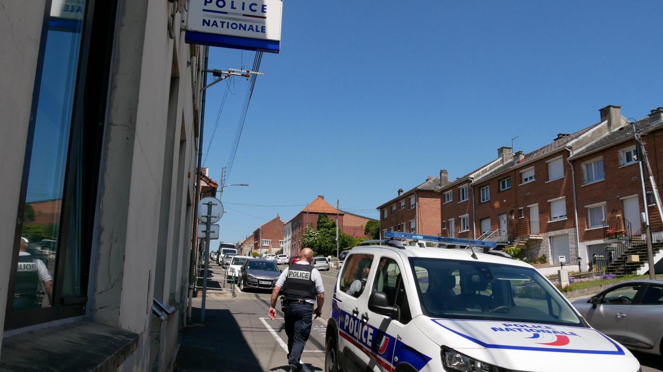 Une cinquantaine de policiers travaillent actuellement au commissariat de Marles-les-Mines.