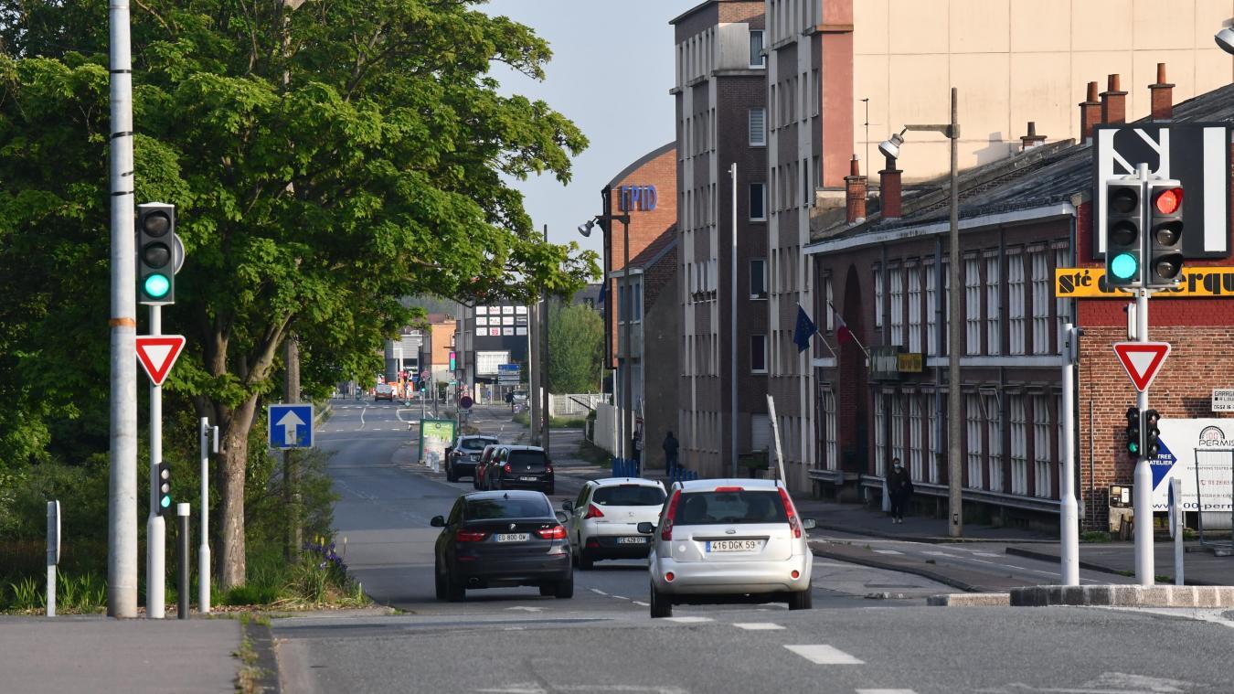 L'an prochain, il n'y aura plus qu'une seule voie de circulation sur cette portion qui mène à Coudekerque-Branche.