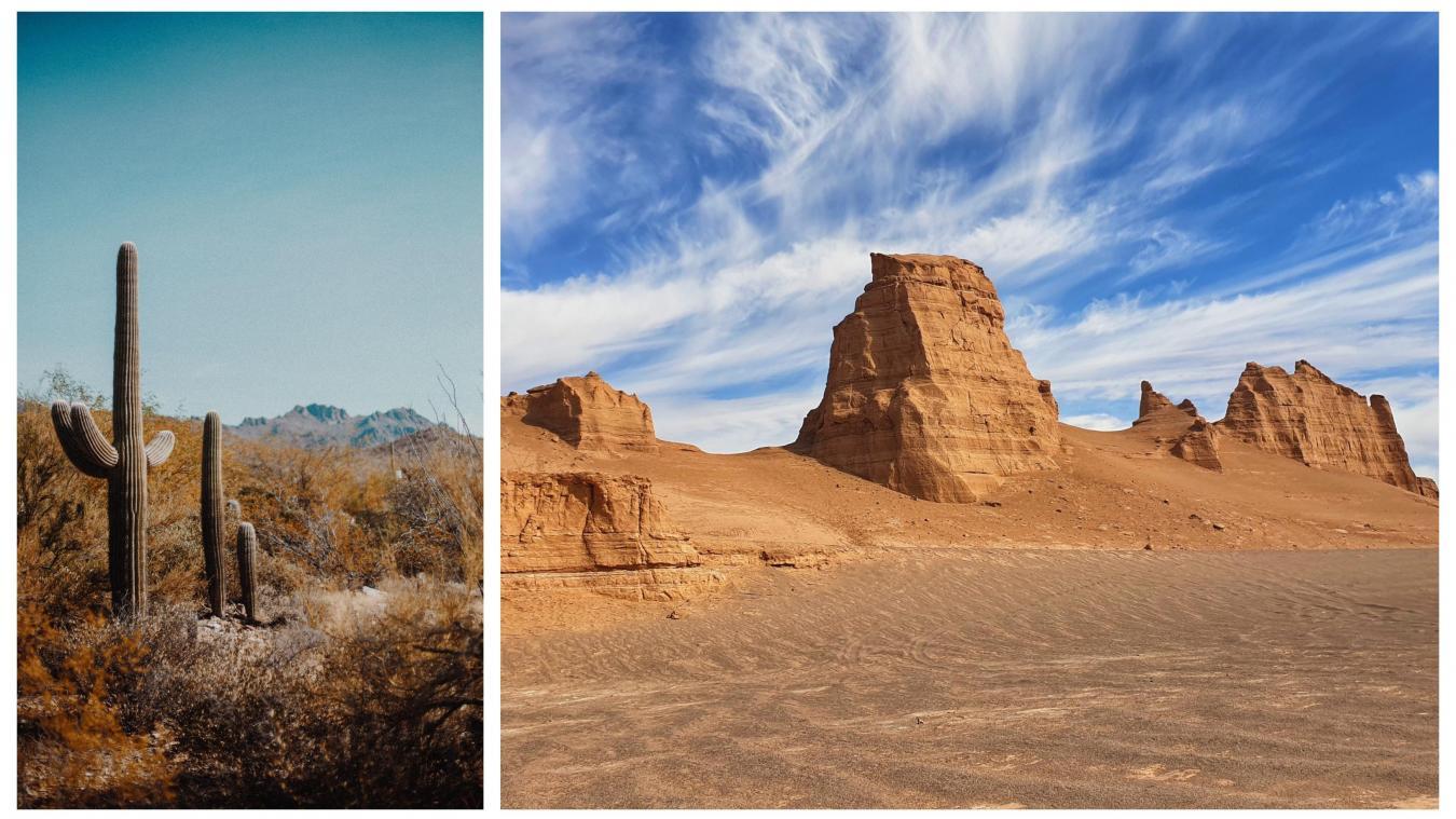 Des chercheurs ont trouvé plus chaud encore que la vallée de la Mort aux Etats-Unis: deux déserts au Mexique et en Iran