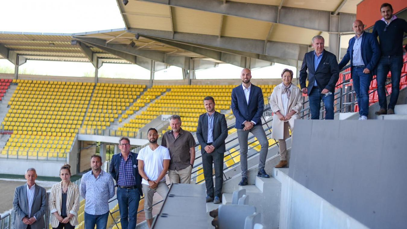 Les nouveaux membres du comité d'accompagnement des trois clubs calaisiens.