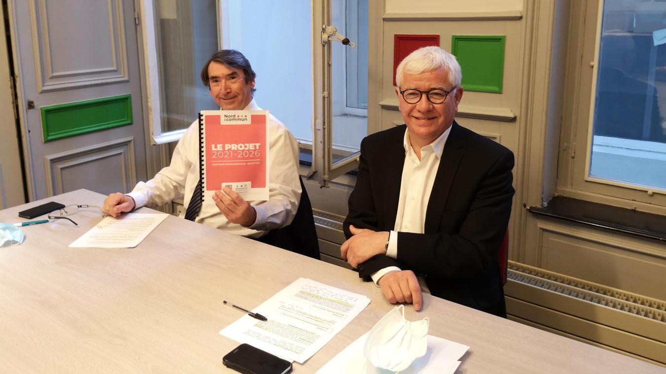 La liste menée par Charles Beauchamp et Didier Manier a préparé un projet en 9 axes pour le mandat à venir.