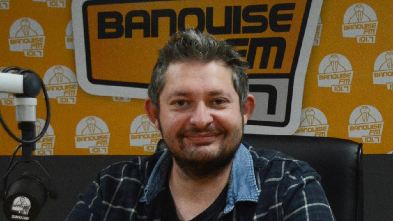 Jean-Baptiste Cottrez, responsable d'antenne de la radio Isberguoise.