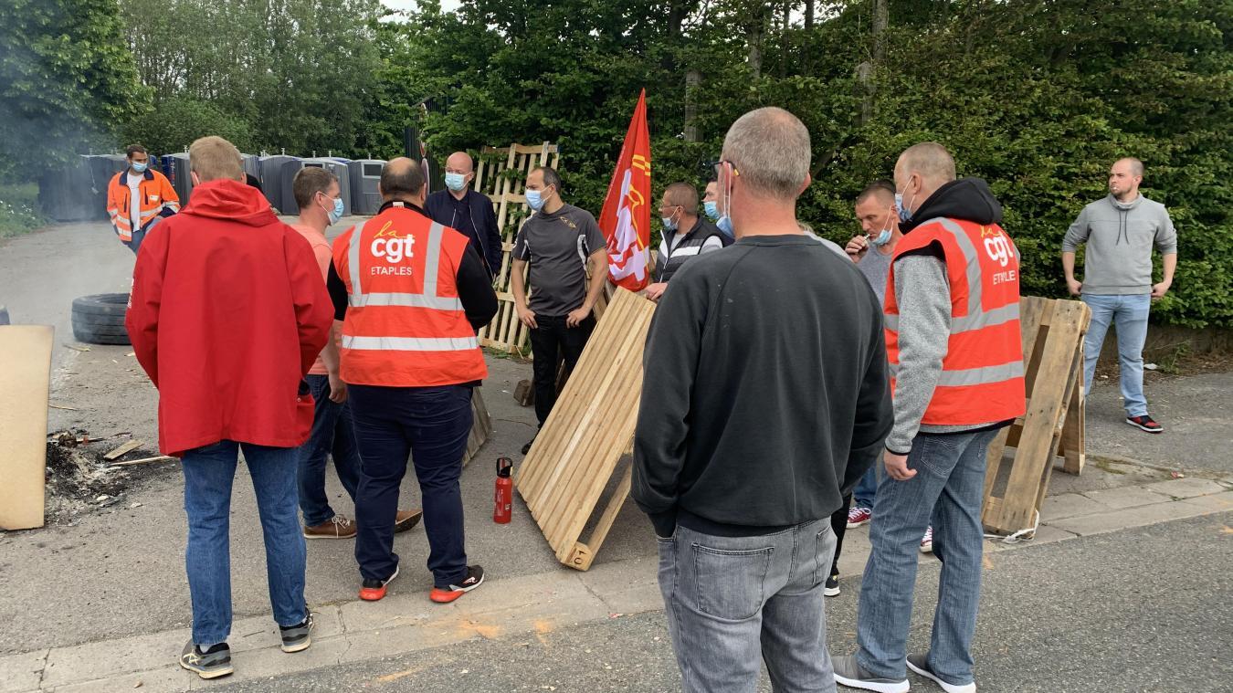 Boulogne: une quarantaine d'éboueurs en grève depuis ce vendredi matin