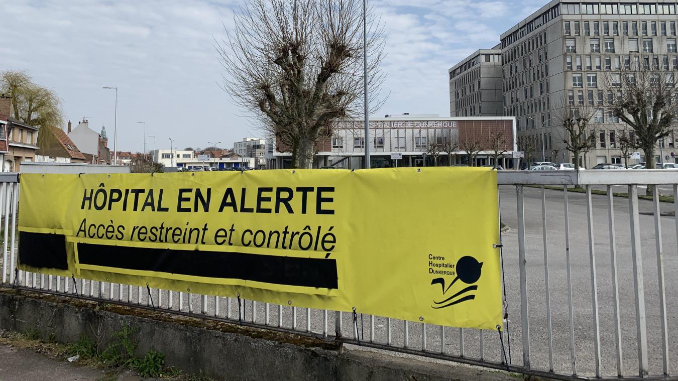 Au Centre hospitalier de Dunkerque, aucun décès lié à la Covid-19 n'est à déplorer depuis le 31 mai.
