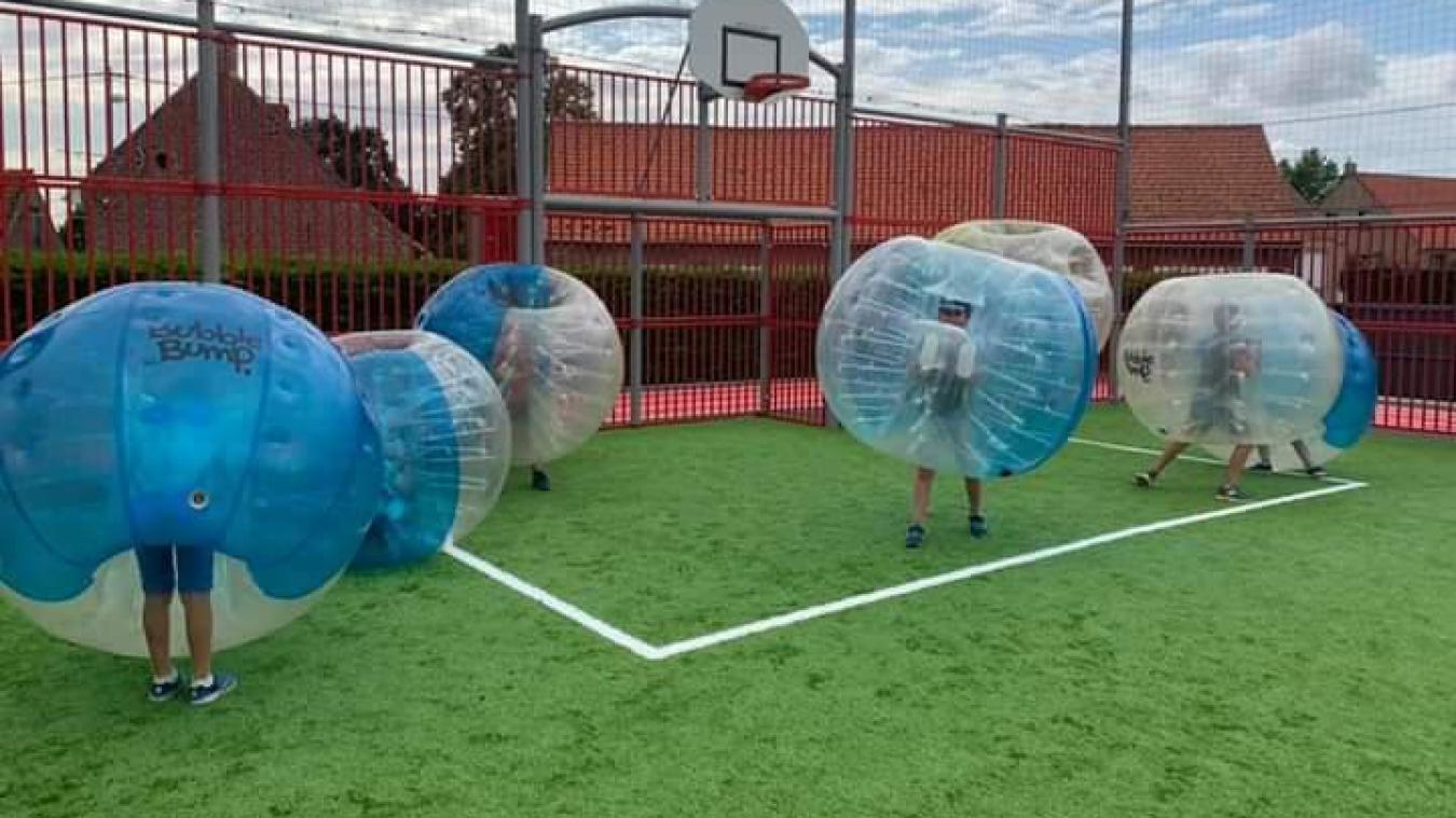 Esquelbecq a beaucoup axé les activités de l'accueil collectif de mineurs sur la pratique sportive.
