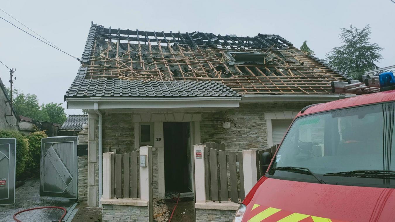 24 sapeurs-pompiers ont été mobilisés au plus fort de l'intervention.