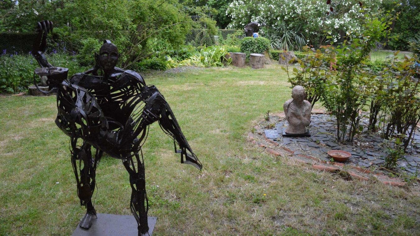 Un jardin des artistes à découvrir ce week-end à Oye-Plage