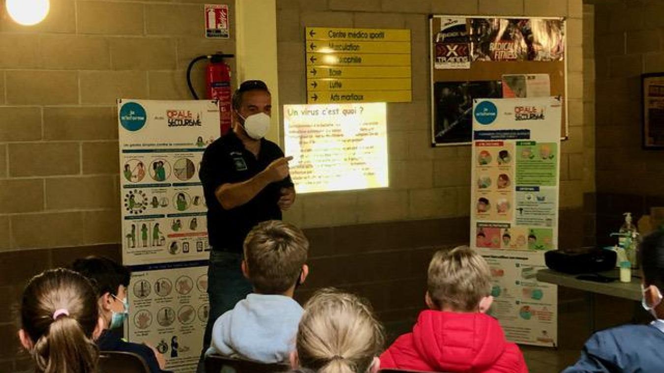 400 élèves de 11 écoles différentes ont été accueilli pendant trois jours dans la salle de sport du Chemin-Vert.