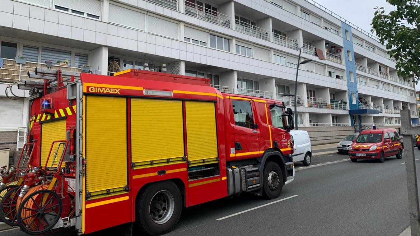 Les pompiers ont été appelés vers 12h30.