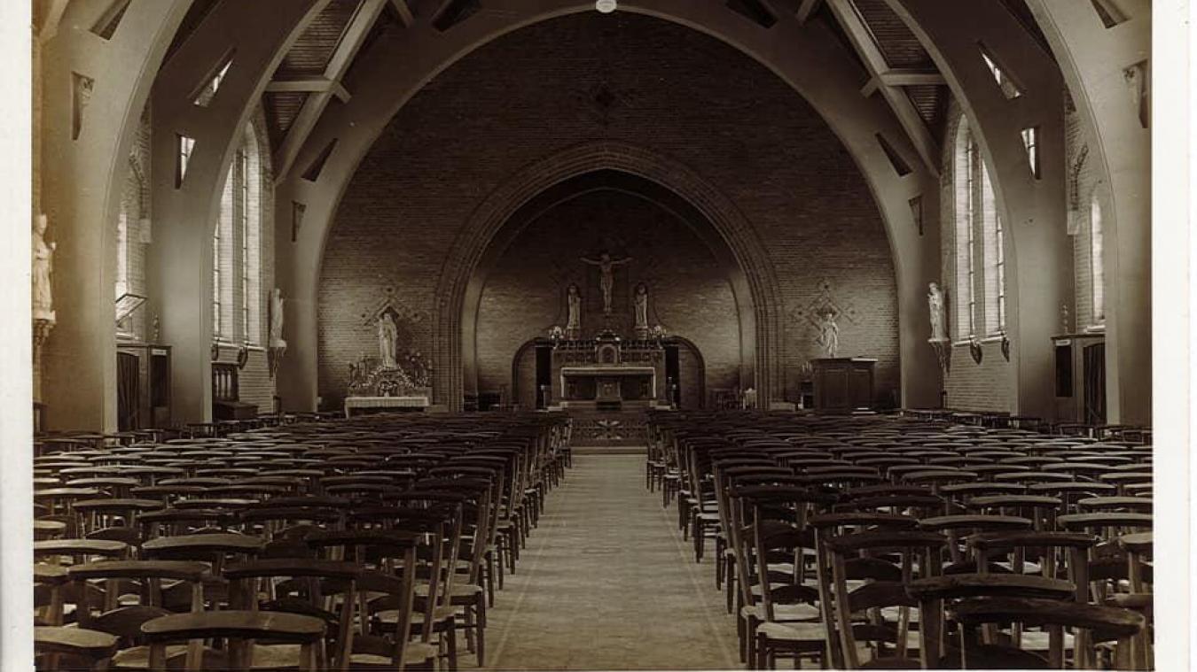 L'intérieur de l'église Saint-Amand à Bailleul. (photo - Facebook Paroisse Notre-Dame du Fief)