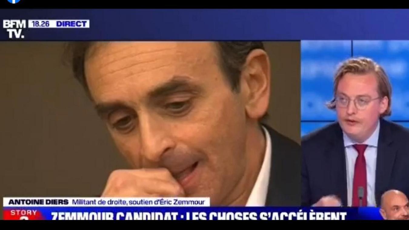 Présidentielle: l'ancien directeur de cabinet de Natacha Bouchart soutient… Eric Zemmour