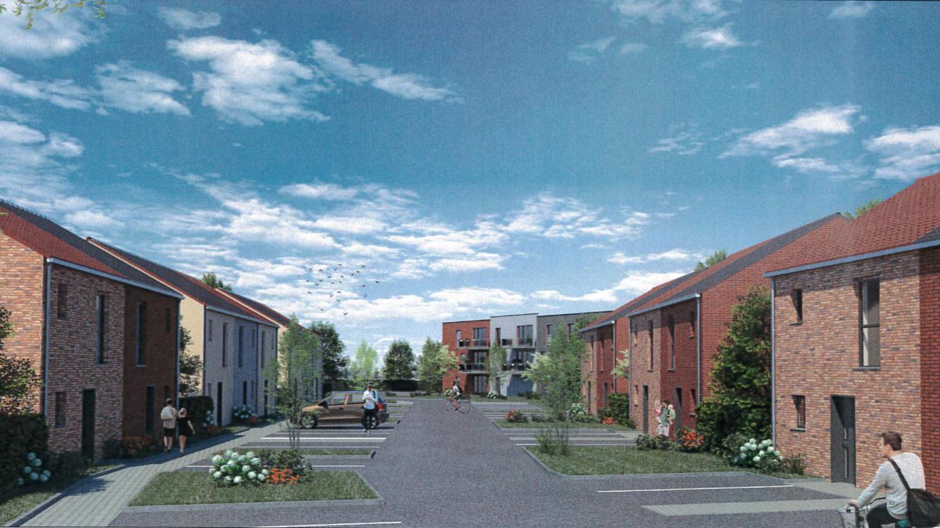 58 nouveaux logements seront construits à la place de l'ancien Intermarché.