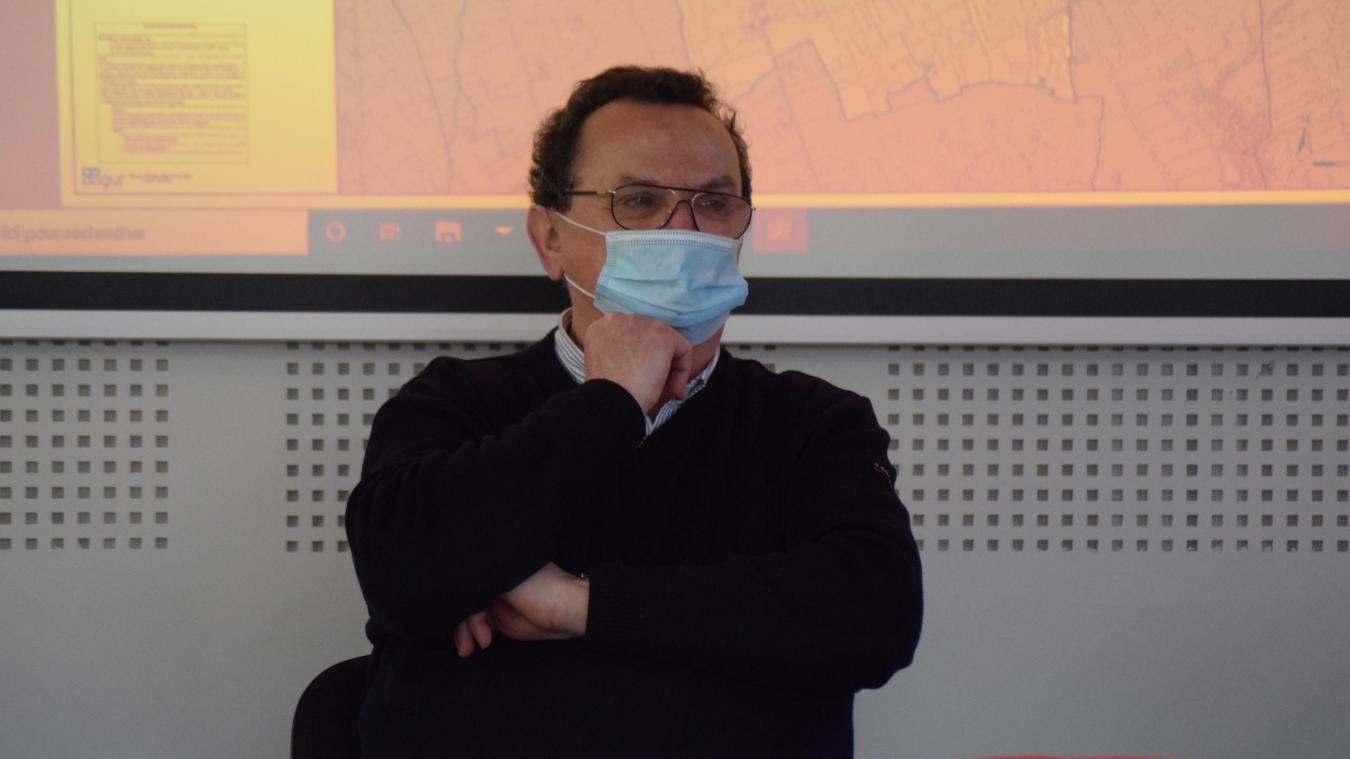 Le maire de Quaëdypre, Jean-Claude Dekeister, a soulevé la question au conseil.