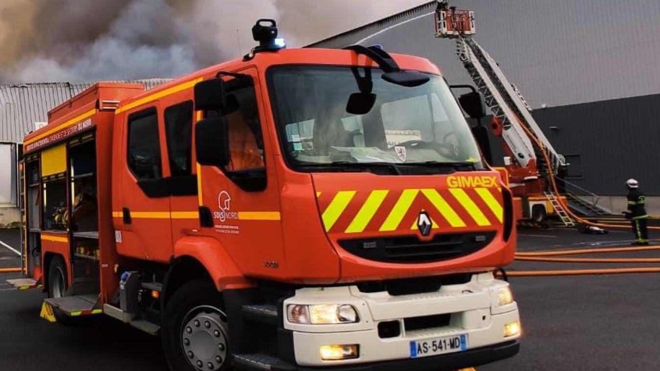 Les sapeurs-pompiers de Dunkerque sont intervenus pour un feu d'appartement rue de la Cartoucherie.