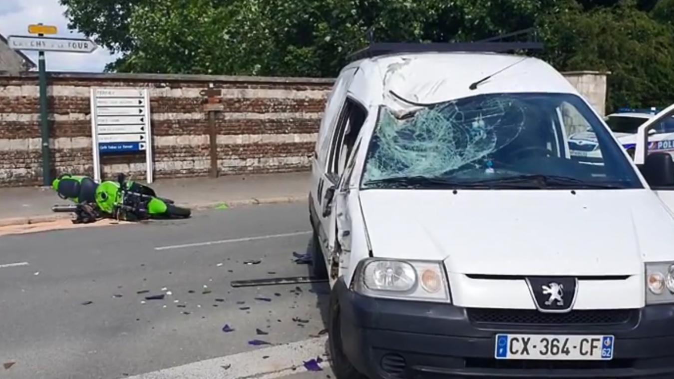 Ferfay : il percute mortellement un motard, le parquet requiert du sursis