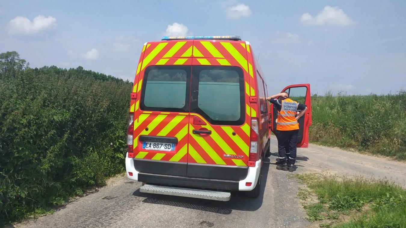 Westrehem : un jeune motard blessé dans un accident de la route
