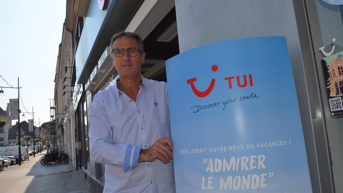 «Pour des départs cet été, il y a encore des places», lance Michel Marles, directeur (Sélectour Voyages Inglard) à Aire-sur-la-Lys.