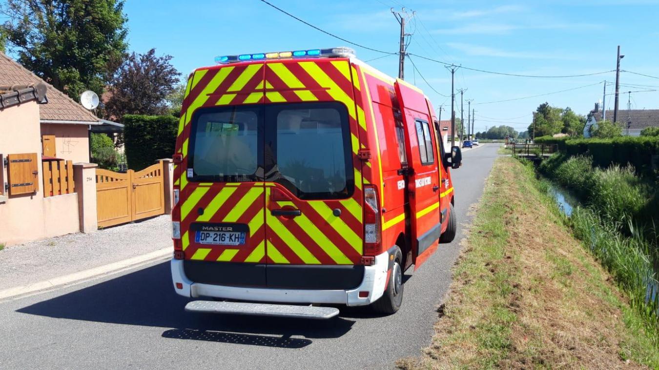 L'accident a eu lieu ce mercredi 9 juin, au marais de Guînes.