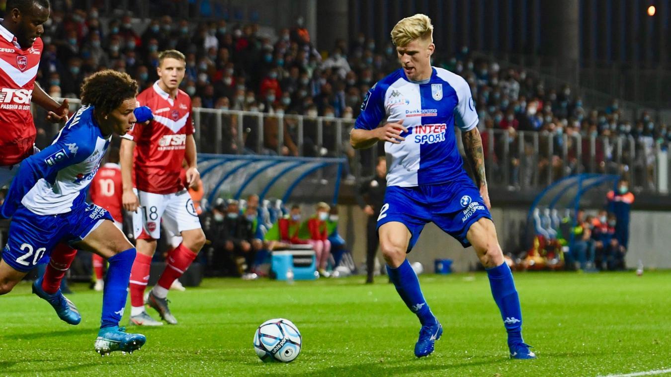 Émeric Dudouit a prolongé son contrat avec l'USLD.
