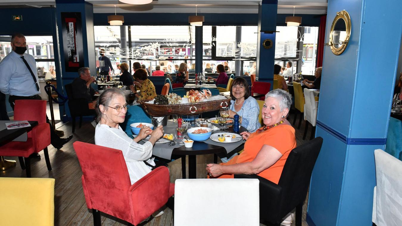 Le personnel du restaurant la Mer a tout mis en œuvre pour que les clients retrouvent l'ambiance d'avant.