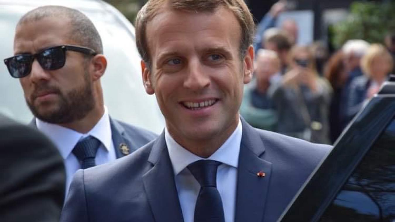 Emmanuel Macron était en déplacement dans la Somme