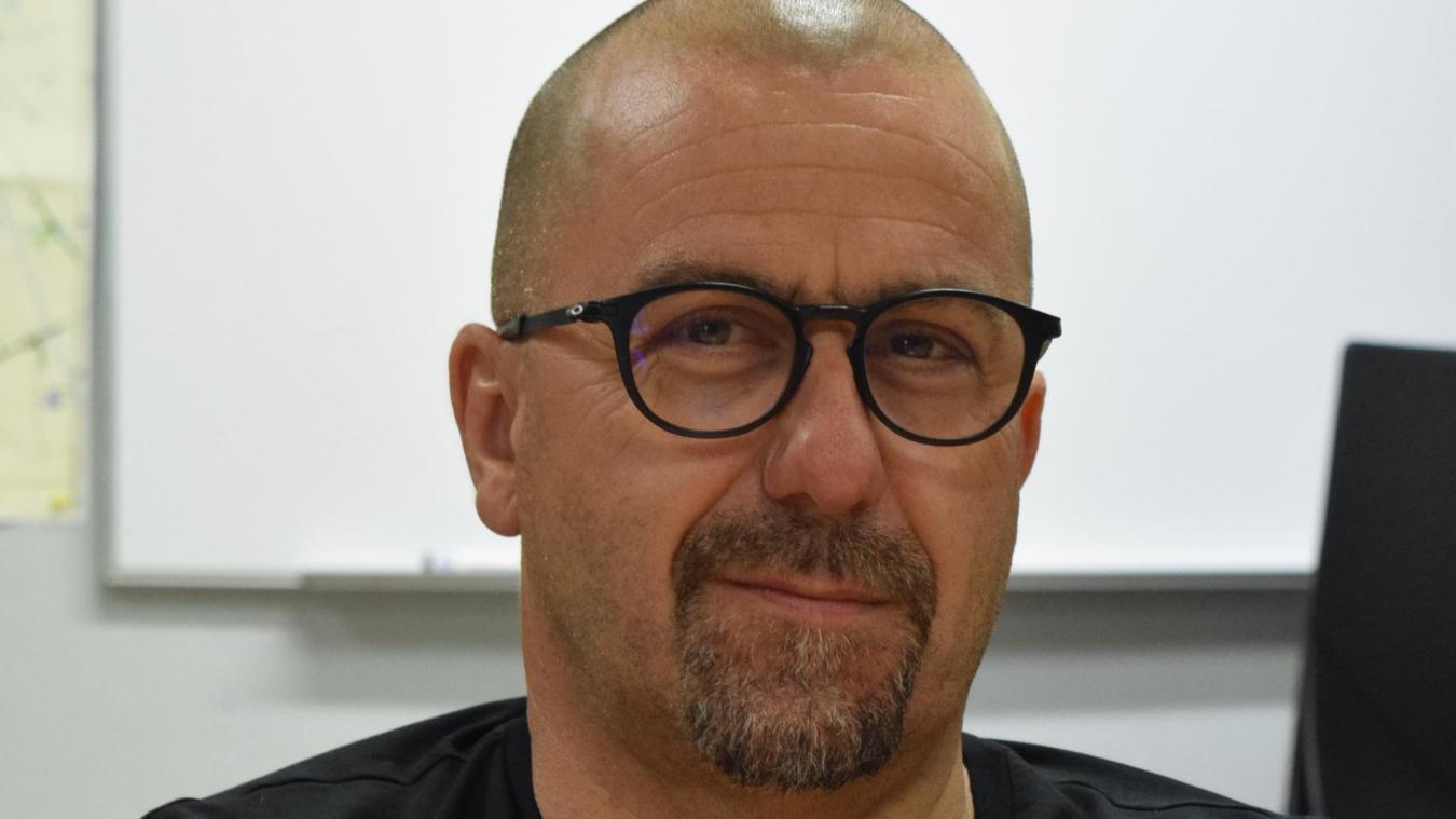 Franck Gilliot est chef de centre à Bergues depuis 2017.