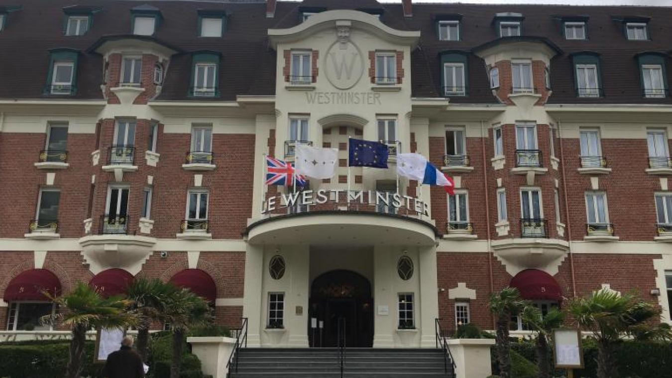 L'Hôtel Westminster vient de décrocher une cinquième étoile.