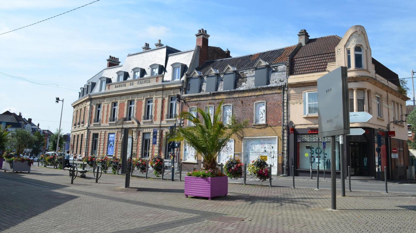 Les faits avaient eu lieu place Clemenceau à Béthune. (Photo d'archives)