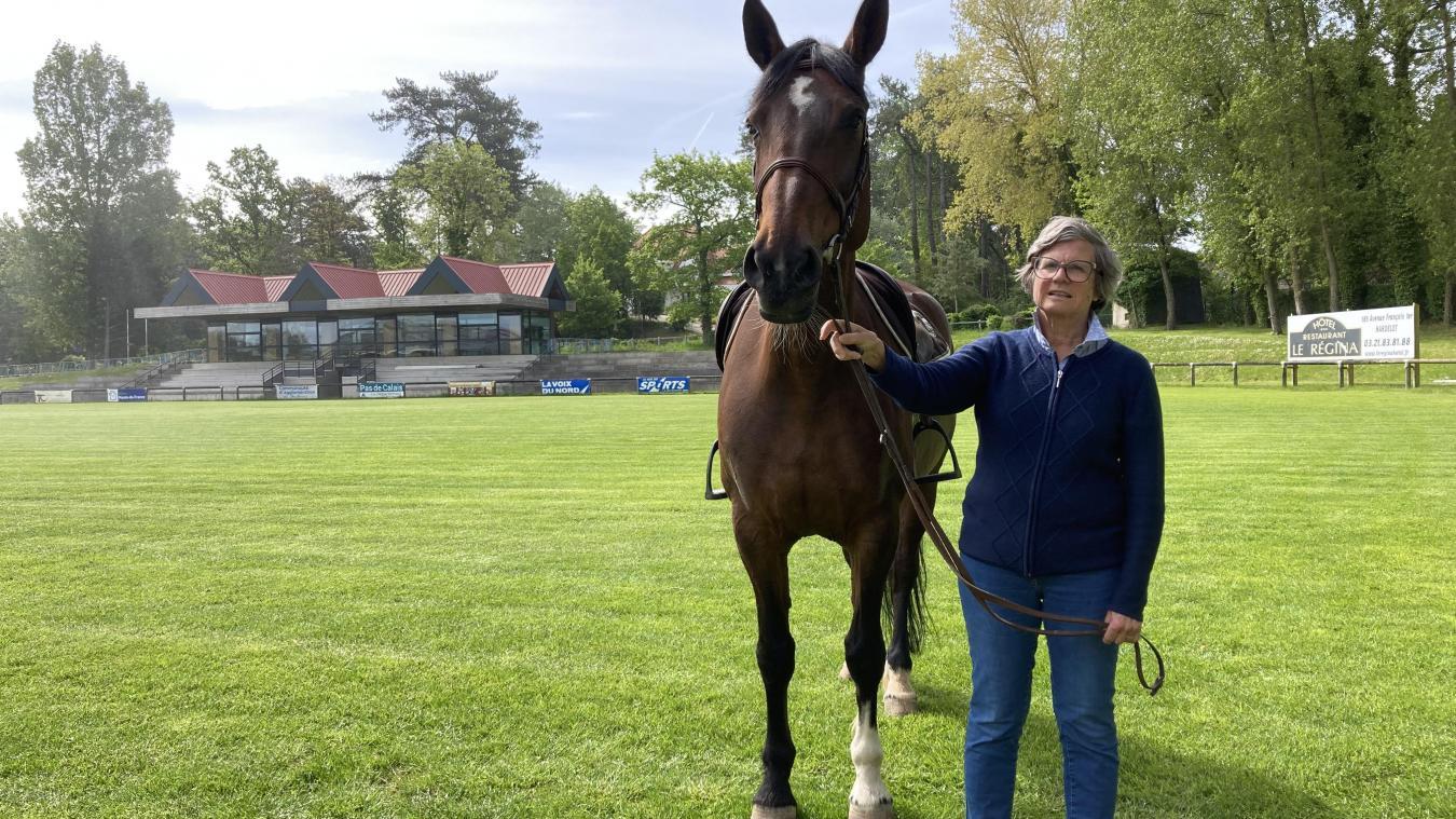 Agnès Rohmer se réjouit d'accueillir une compétition à Hardelot.