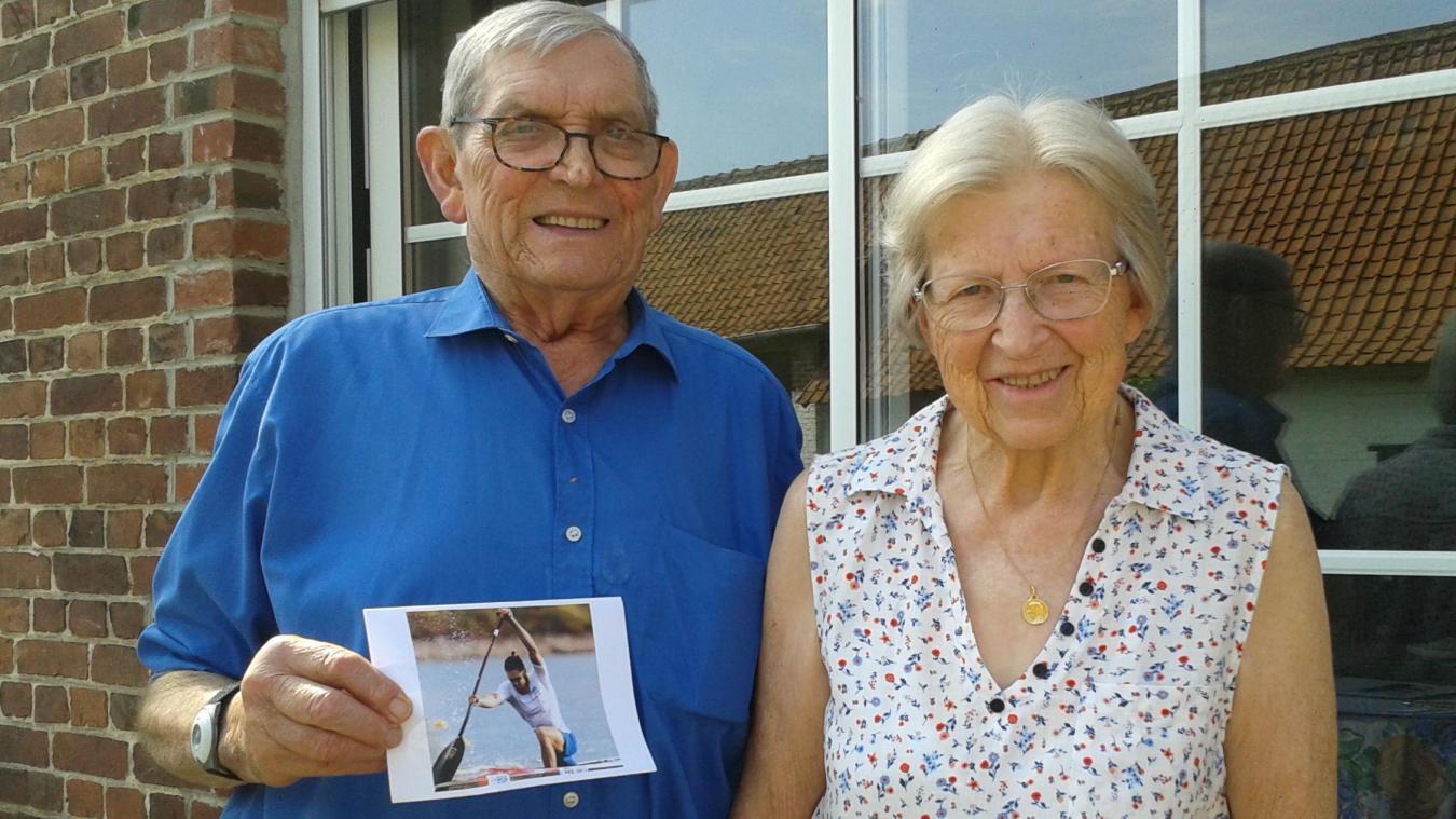 Joseph et Marie-Claire Bart sont les grands-parents d'Adrien Bart, un espoir français de médaille aux jeux Olympiques de Tokyo.