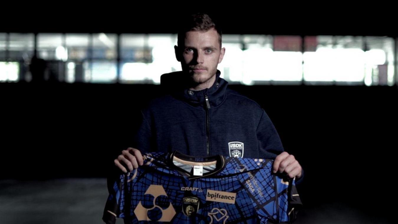 Théo Avelange-Demouge s'est engagé deux saisons avec l'USDK. Image club