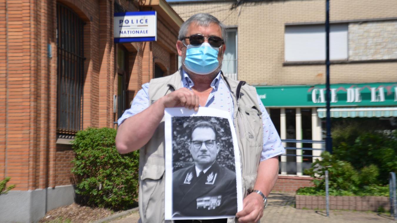 Philippe Marteel veut rendre hommage à Georges Vigoureux, le commissaire de police qui avait sous ses ordres son grand-père.