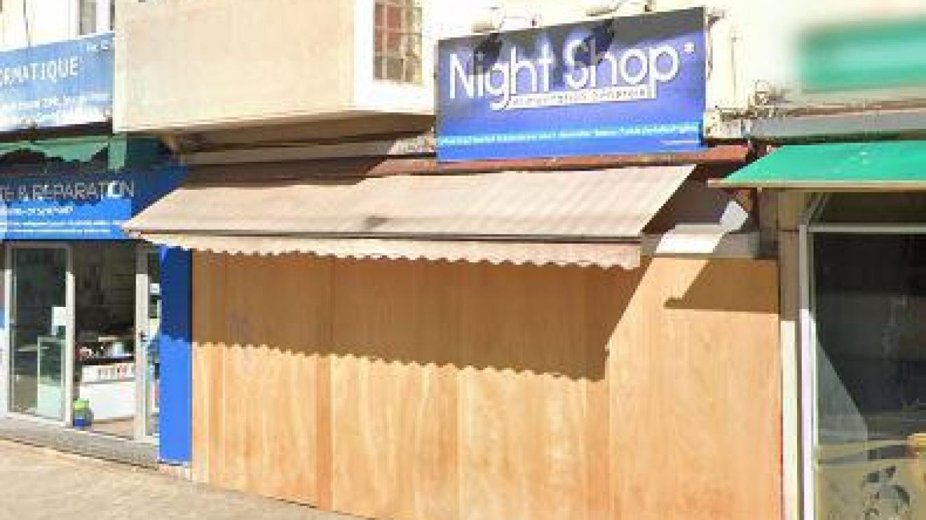 Situé face au tribunal à Dunkerque, le Night Shop était placé en liquidation judiciaire en novembre 2019.