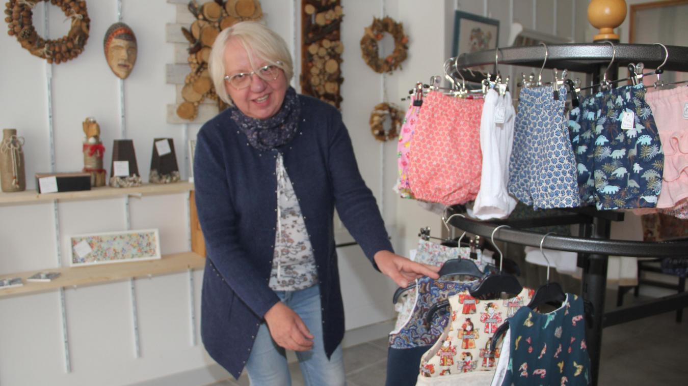 Christine Deroo est installée 7, rue Moeneclaey dans un immeuble qui a, par le passé, connu plusieurs affectations commerciales.