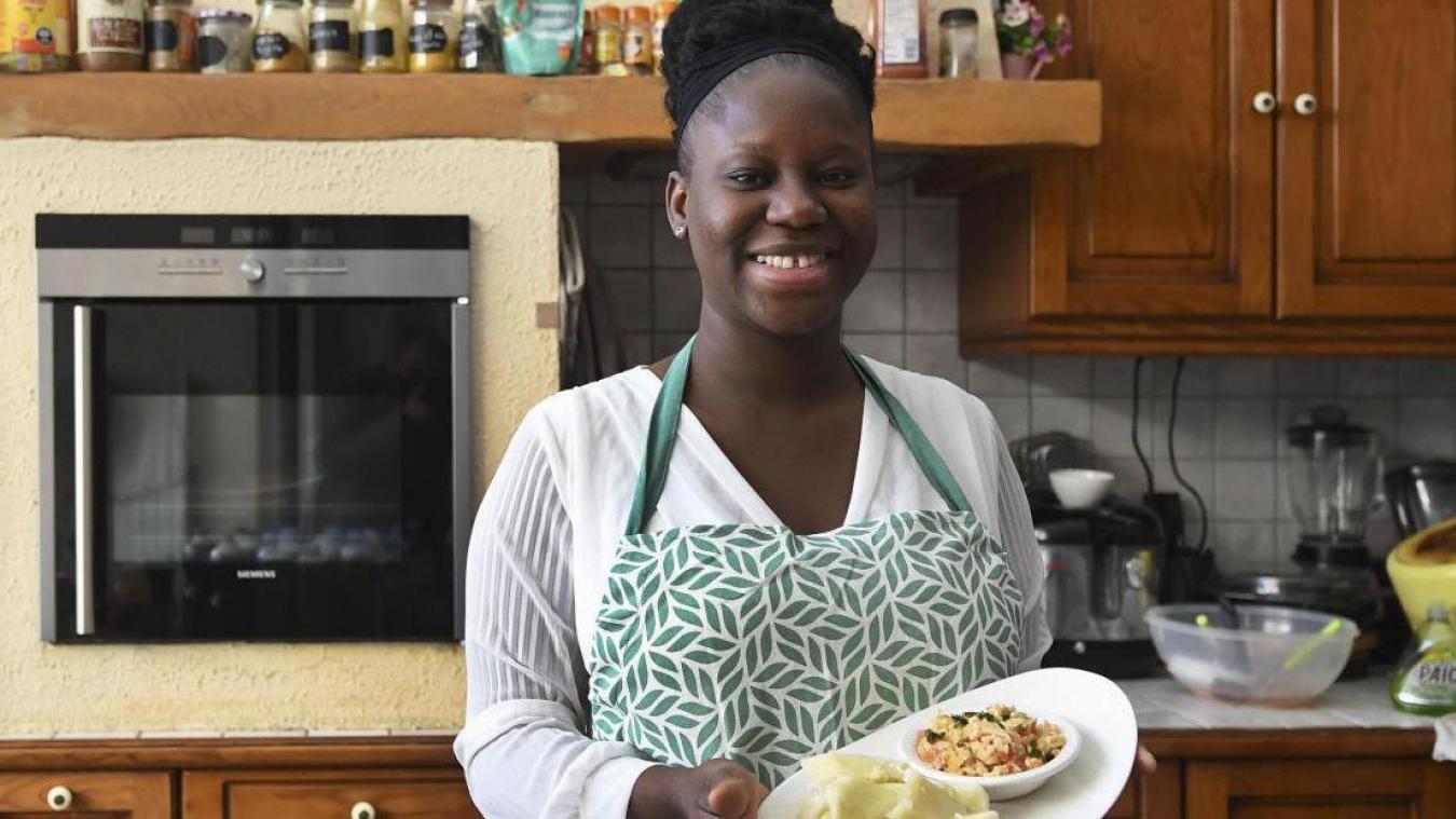 La chef Calaisienne-Béninoise Arielle Akakpo s'exporte au Channel.