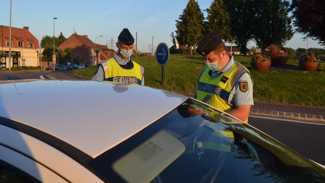 Contrôles massifs des gendarmes sur les axes principaux d'Aire-sur-la-Lys.
