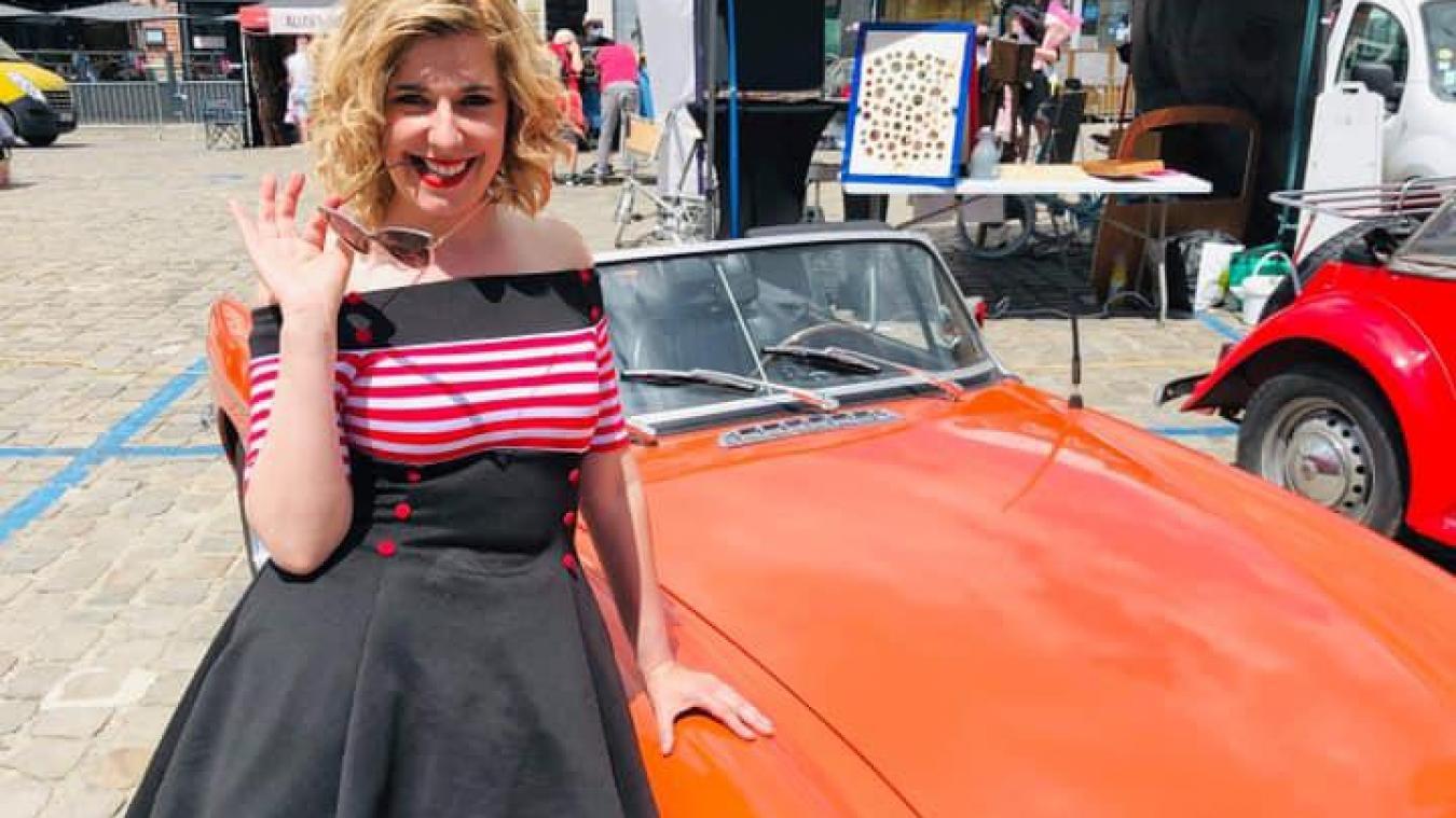 Lilly a enchanté le final de Sur un Aire Rétro, samedi 12 juin, à Aire-sur-la-Lys avec DFTB Prod.