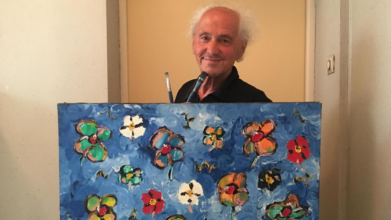 Louis Duflos, Montreuillois depuis toujours, poursuit son art selon ses inspirations.
