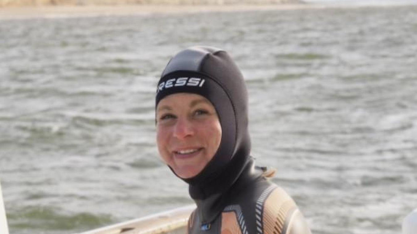 Emilie Bertheaume a déjà effectué plusieurs entraînements dans la Manche.