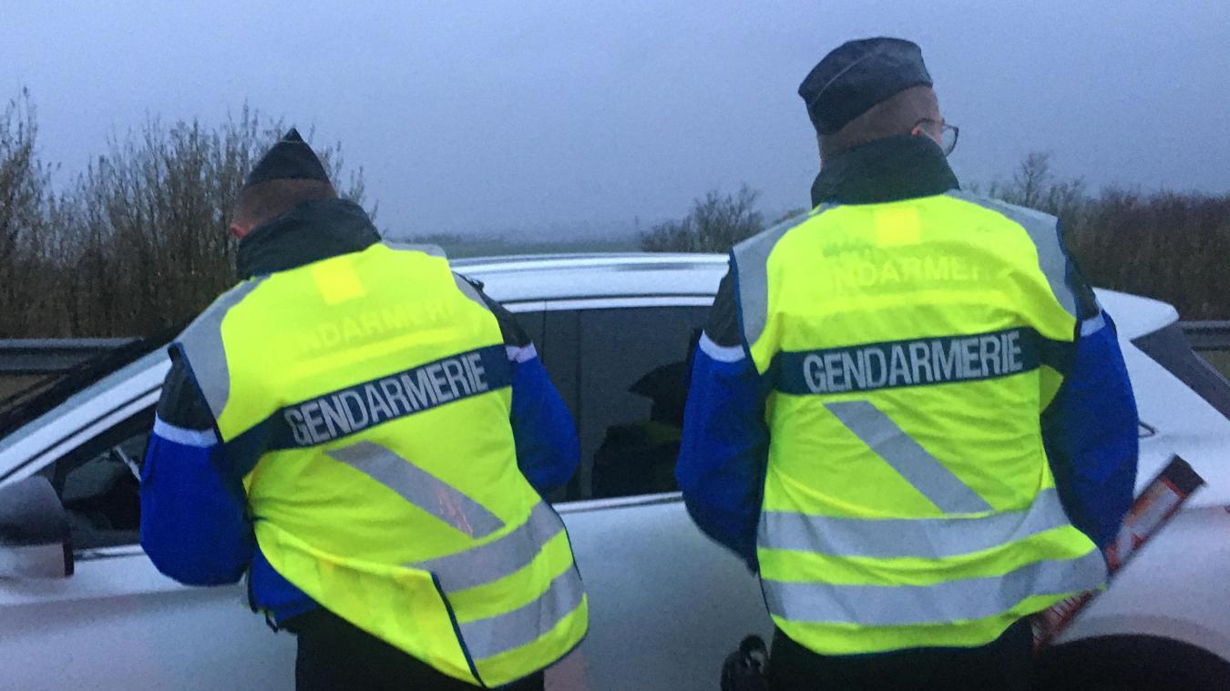 Les gendarmes ont également veillé au respect du couvre-feu fixé à 23 heures depuis ce mercredi 9 juin.