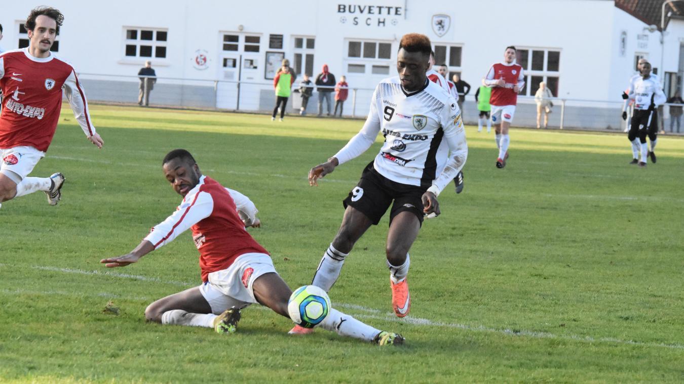 Aboubacar Camara (en blanc) évoluera la saison prochaine au Portel.