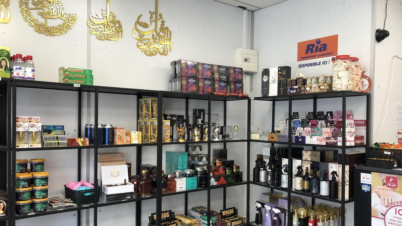 La boutique Lina est spécialisée dans la vente de produits orientaux.