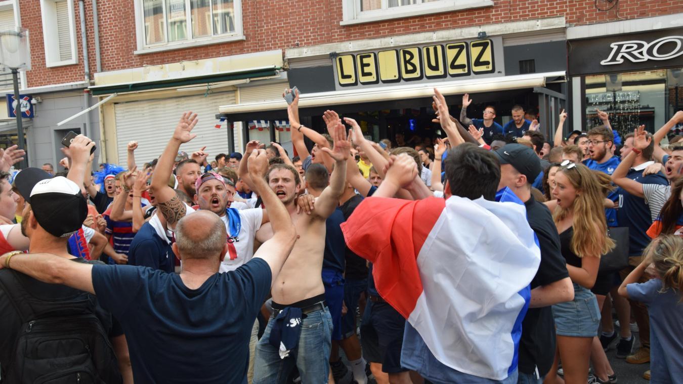 Les bars espèrent une belle compétition des Bleus, comme lors de la coupe du monde de 2018... qui s'était achevée par une victoire dignement fêtée!