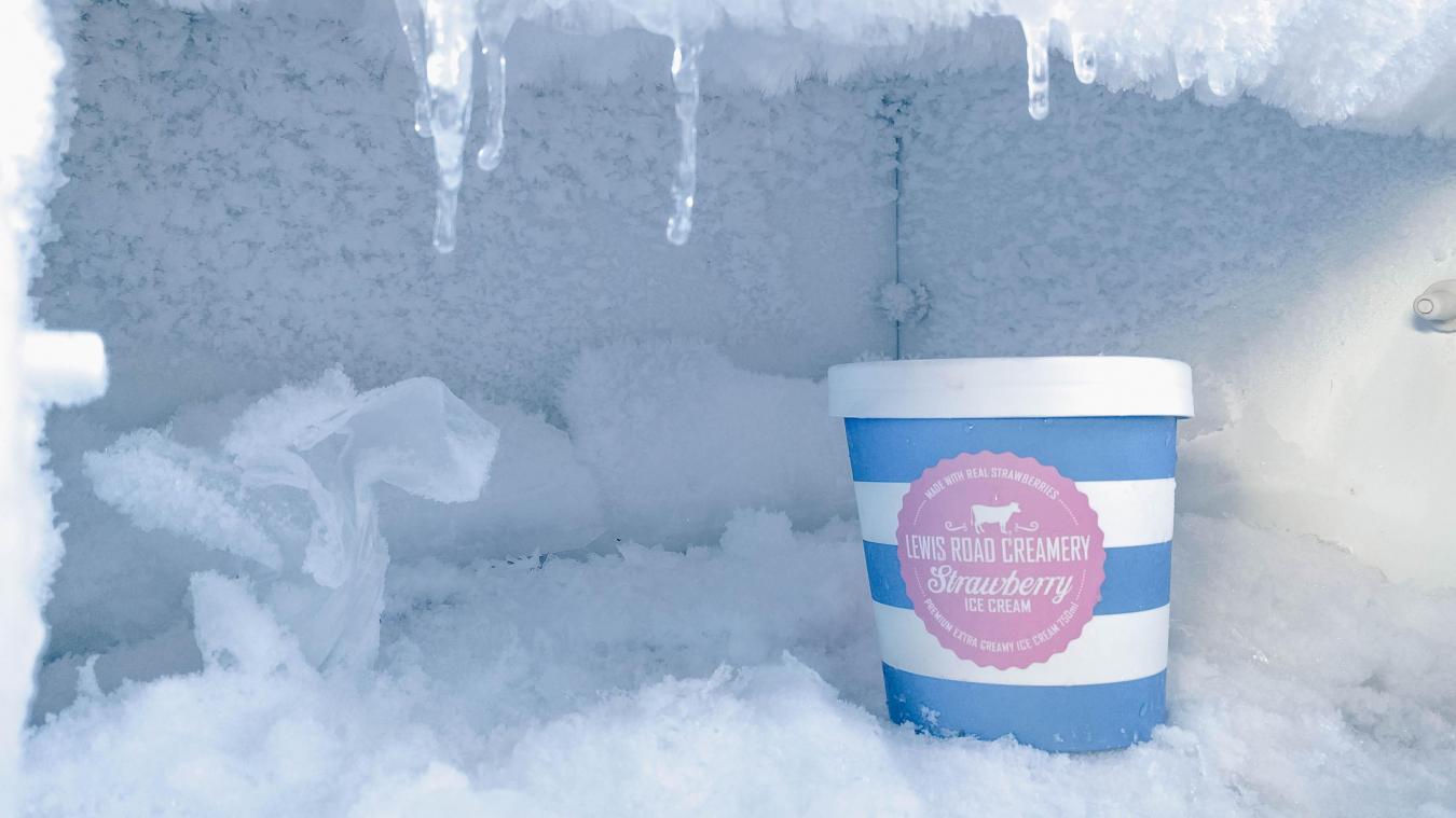 La DGCCRF a publié une longue liste de rappel produits pour des glaces.