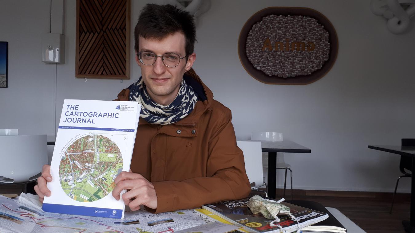 Arthur Beaubois-Jude, dans les locaux d'Anima qu'il connaît bien puisqu'il a accompagné sa création quand il était chargé de mission pour les ADLC. Il est désormais cartographe d'édition et infographe indépendant.