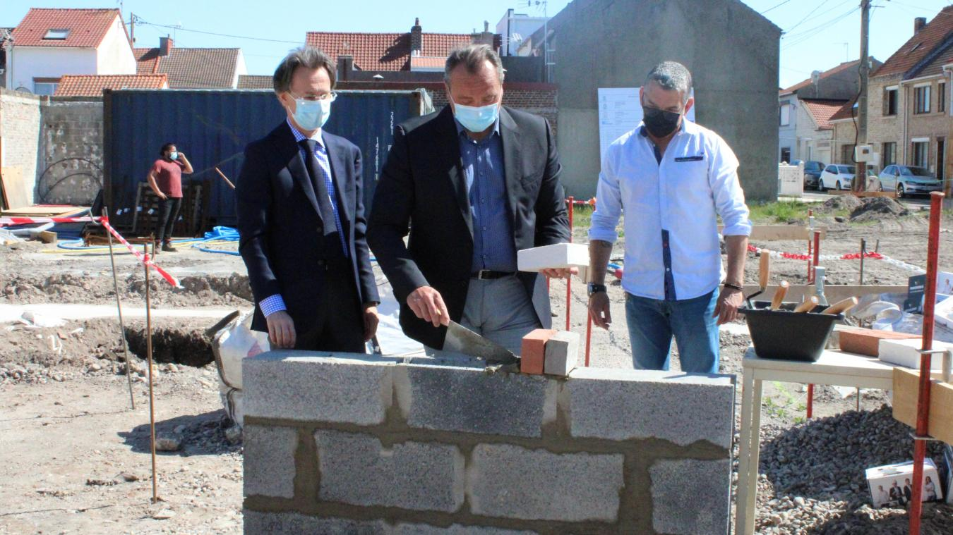 Calais : 12 nouveaux logements en cours de construction rue d'Alger