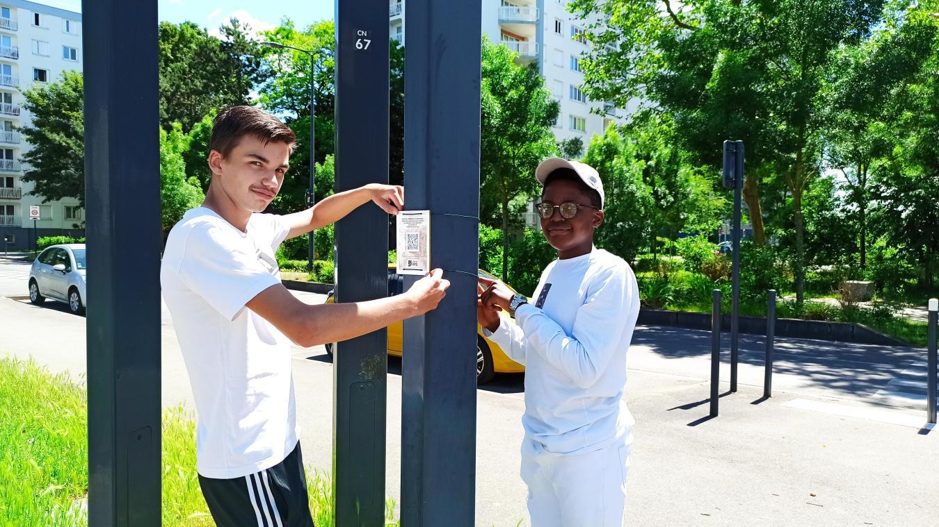 Thomas Lemaire et Gustavi Kapuka Katéma Béya peuvent avoir le sourire, leurs efforts sont aujourd'hui récompensés.