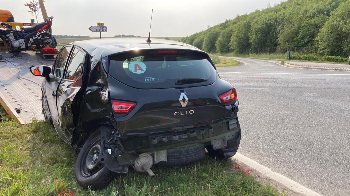 L'accident a eu lieu vers 17 heures.